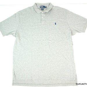 VTG Men's Polo by Ralph Lauren Polo Shirt Grey 2XL